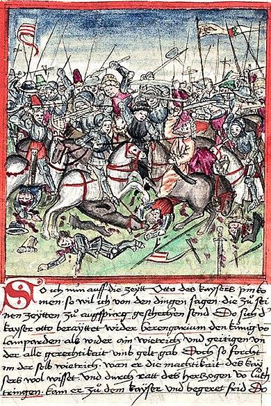 Bataille du lechfeld