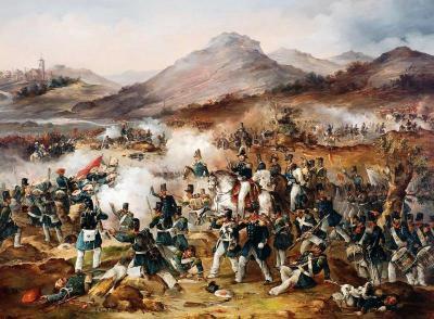 Bataille premiere guerre carliste