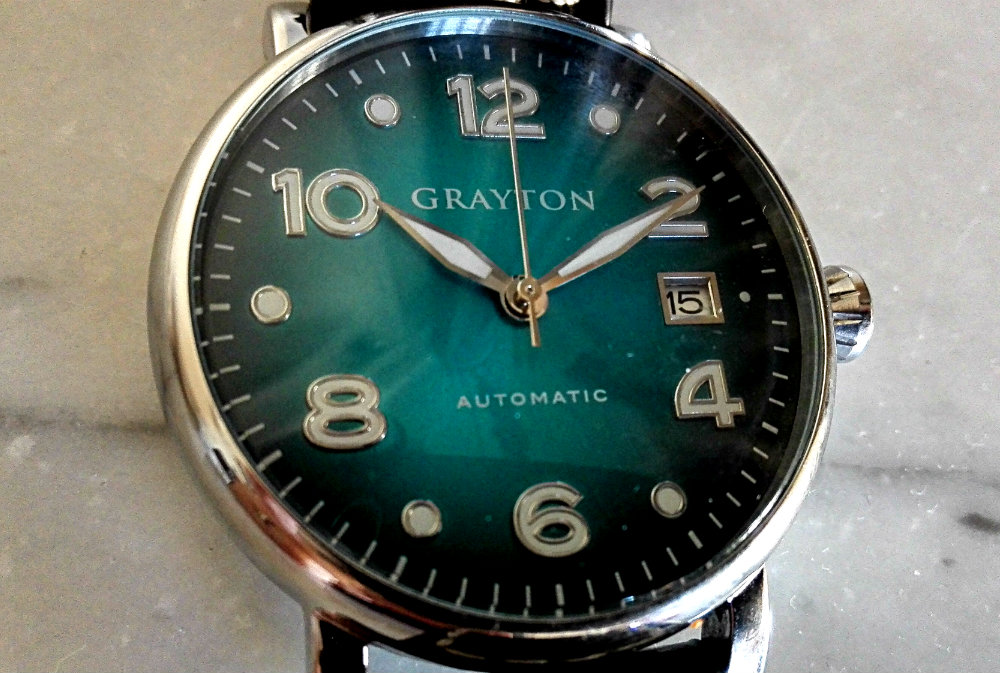 Montre grayton 10h10
