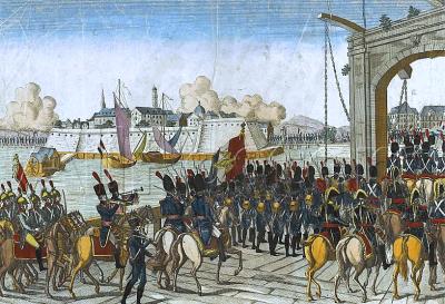 Prise de stettin en 1806