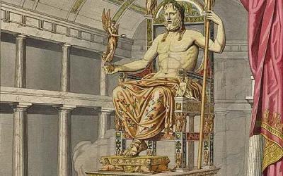 Statue zeus olympie