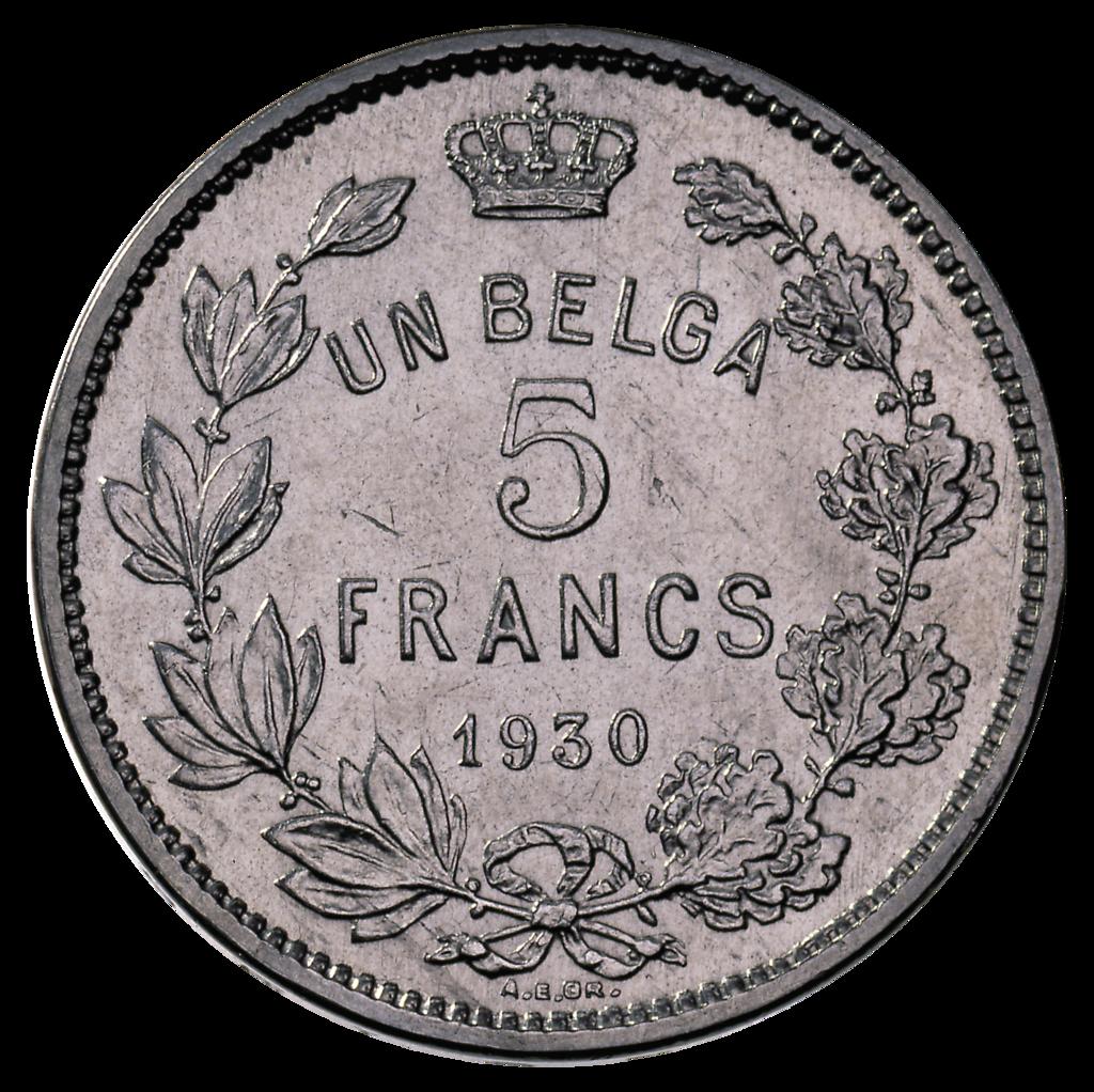 Belga monnaie