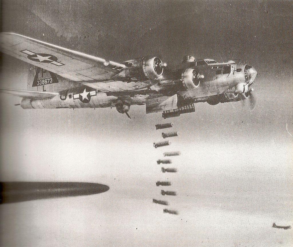 Bombardement aerien