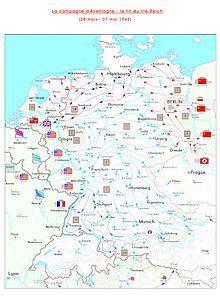 Campagne d allemagne 1945