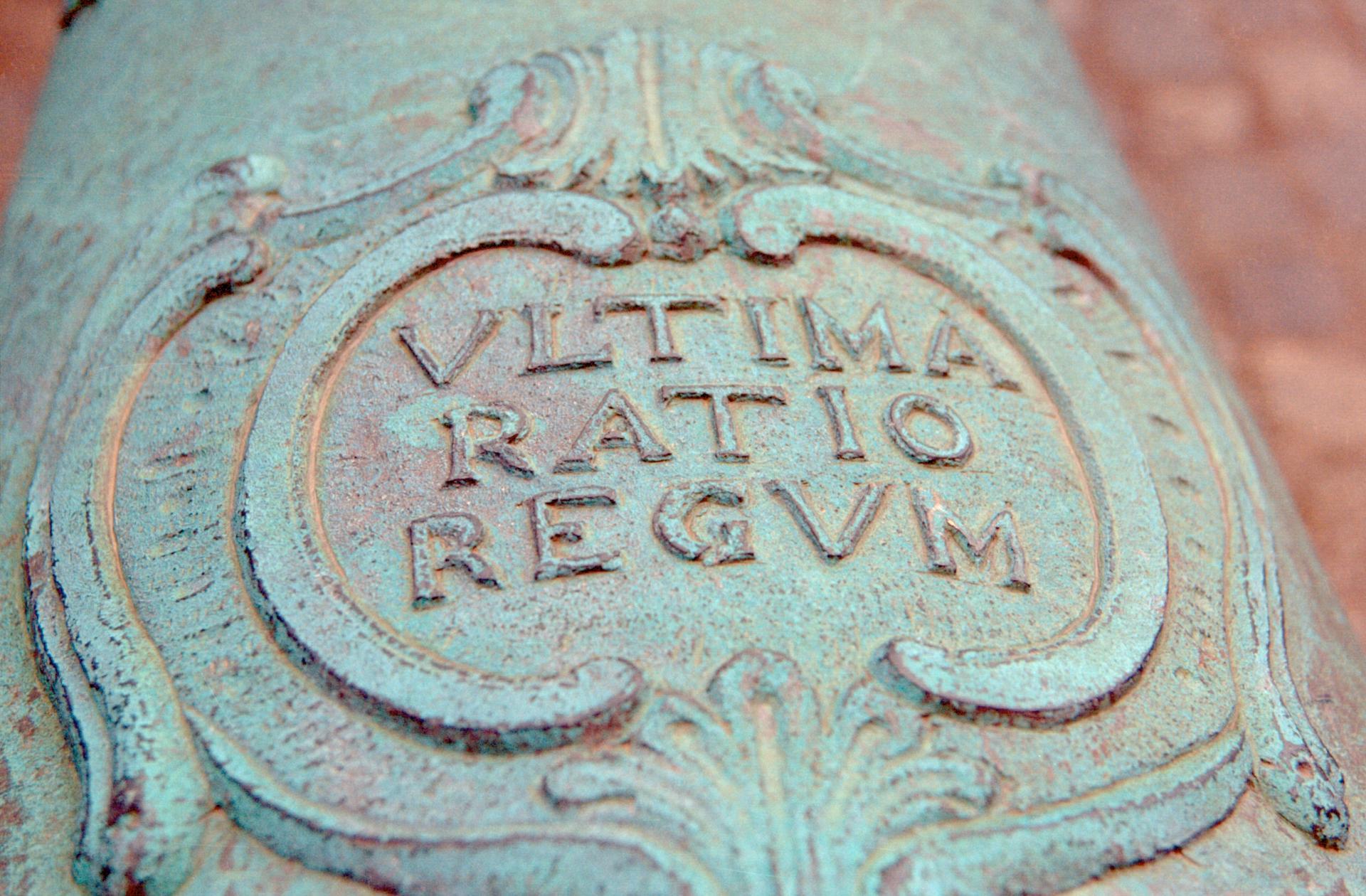 Canon ultima ratio regum
