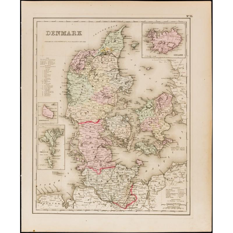 Carte danemark