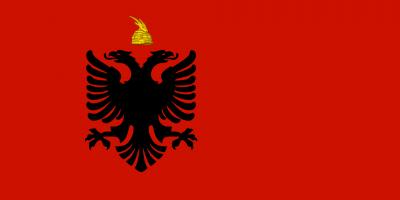 Drapeau royaume albanie