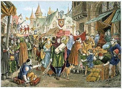 Foire medievale
