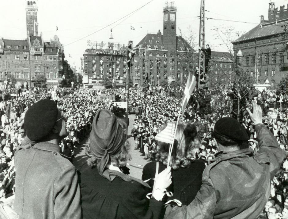 Liberation danemark 1945