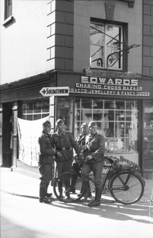 Occupation allemande angleterre