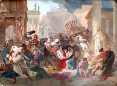 Sac de rome 455