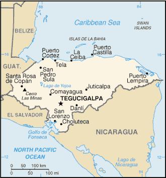 Salvador et honduras