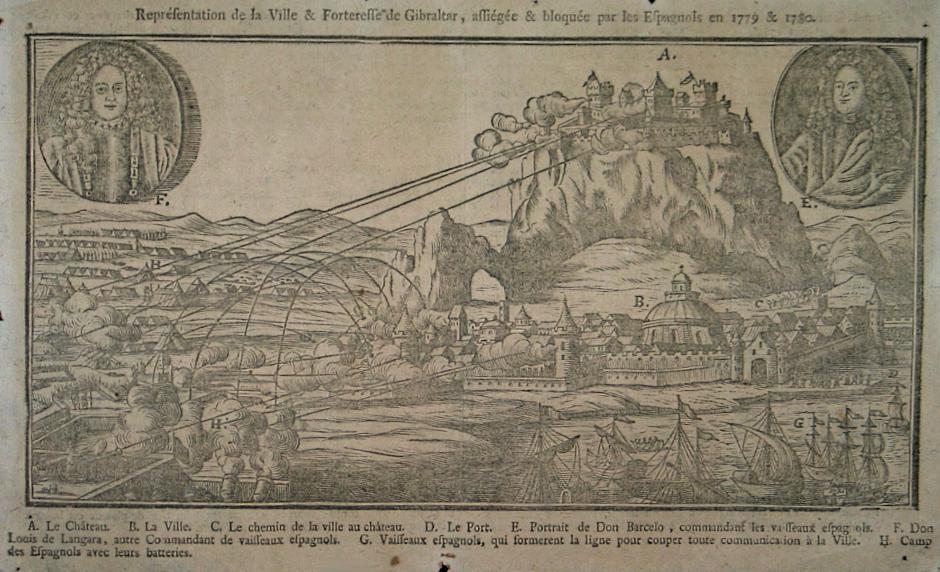 Siege de gibraltar 1779