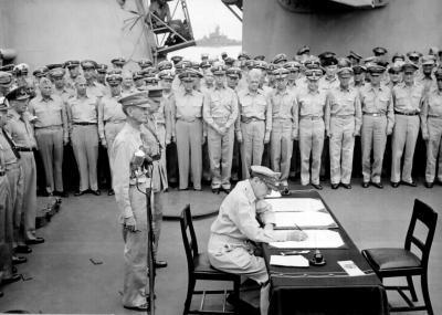 Signature capitulation japon