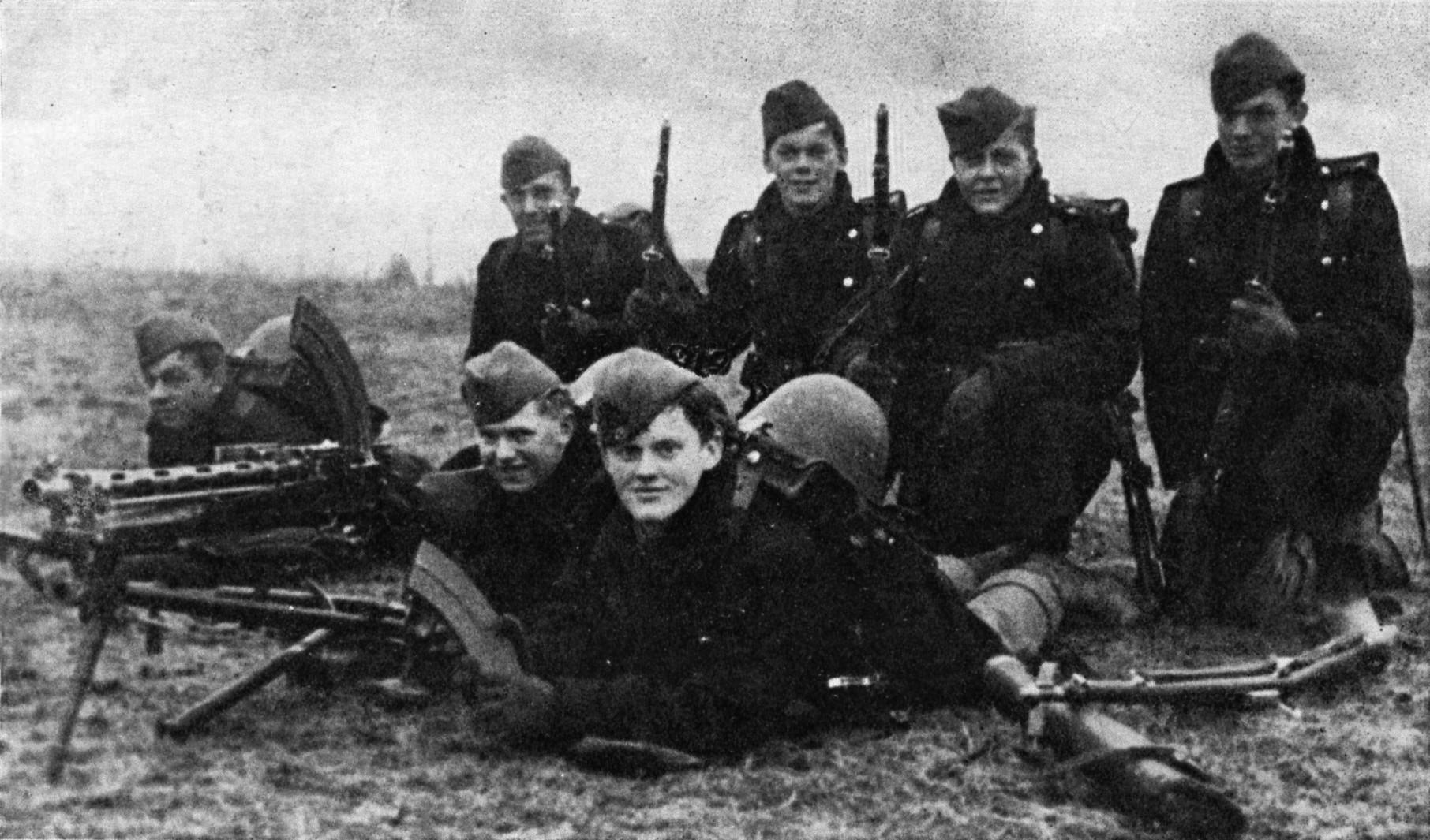 Soldats danois 1940