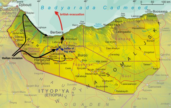 Somaliland 1940
