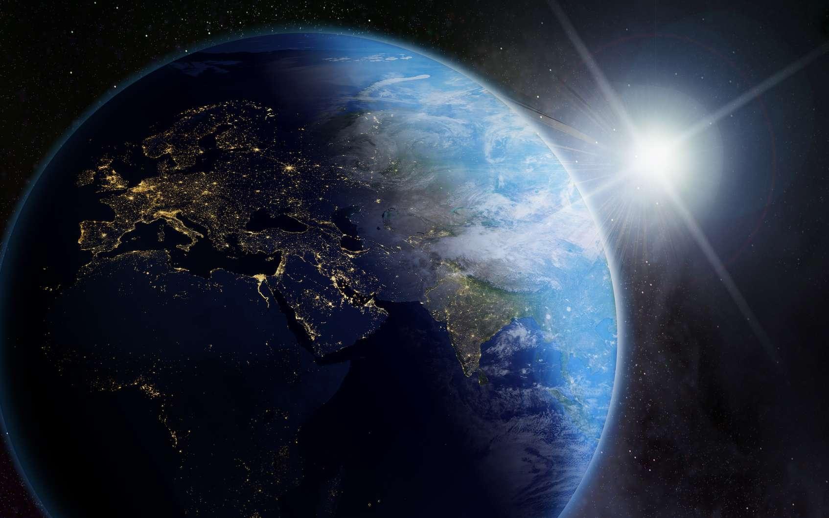 Terre dans l espace